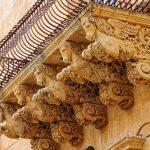 Barocco - balconi a Noto