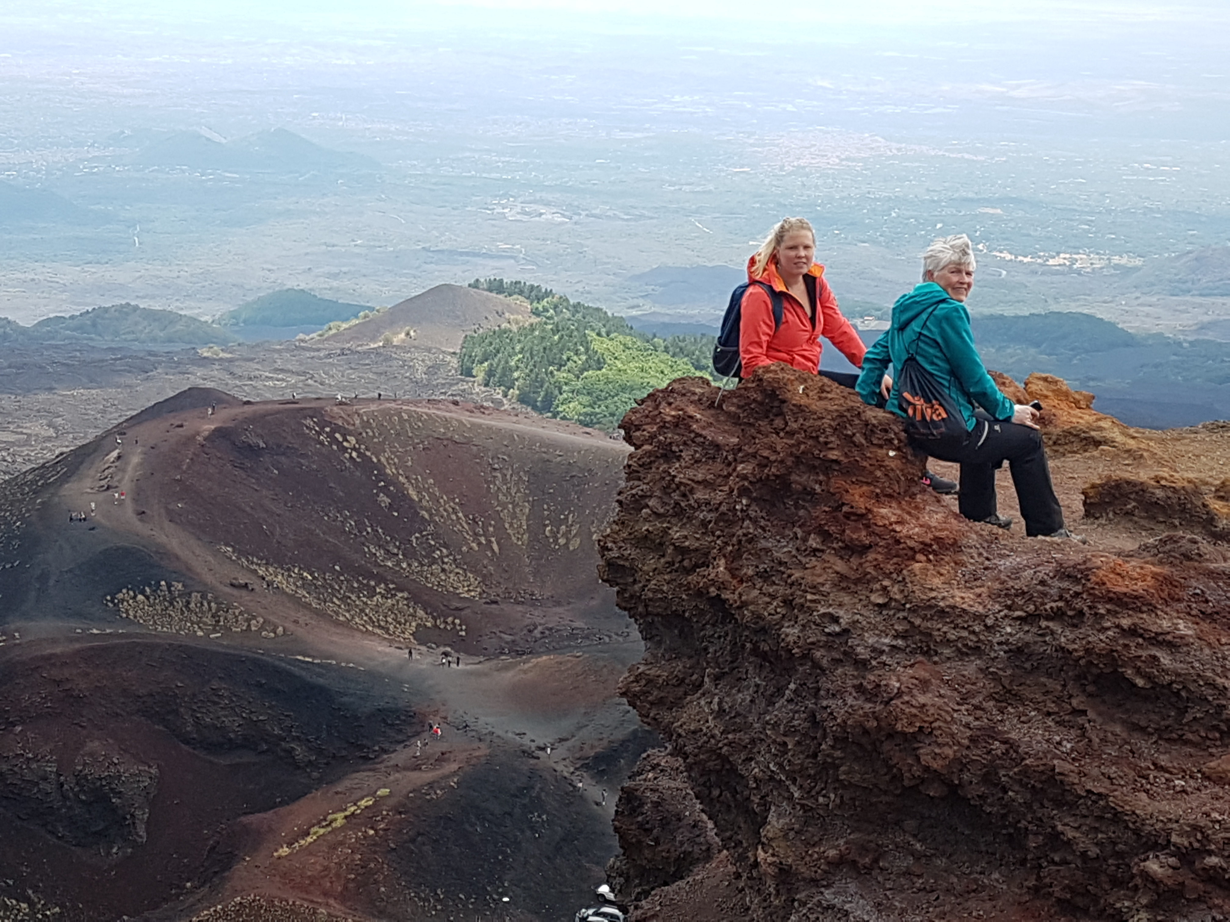 Silvestri krater inferiore