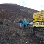 Sentiero trekking crateri silvestri