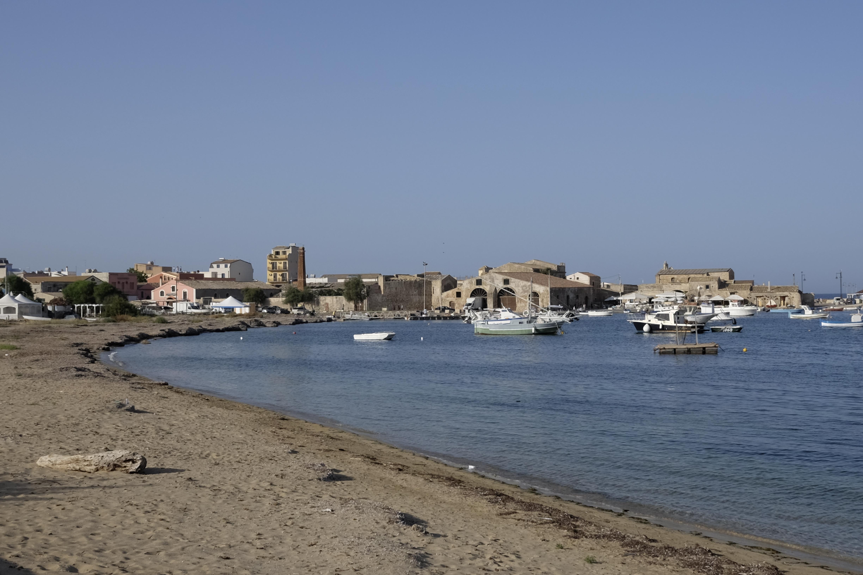 Marzamemi in Sicilië