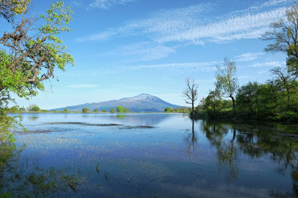 Etna vulkaan vanuit Parco dei Nebrodi