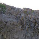 Basalto lavico delle gole dell'Alcantara