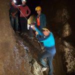 Discesa di Alessandro nella Grotta Cicirello