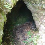 Ingresso grotta Cicirello su Monte Ilice
