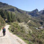 Inizio strada per cascate del Catafurco