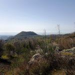 Panorama dal cratere di monte Ilice