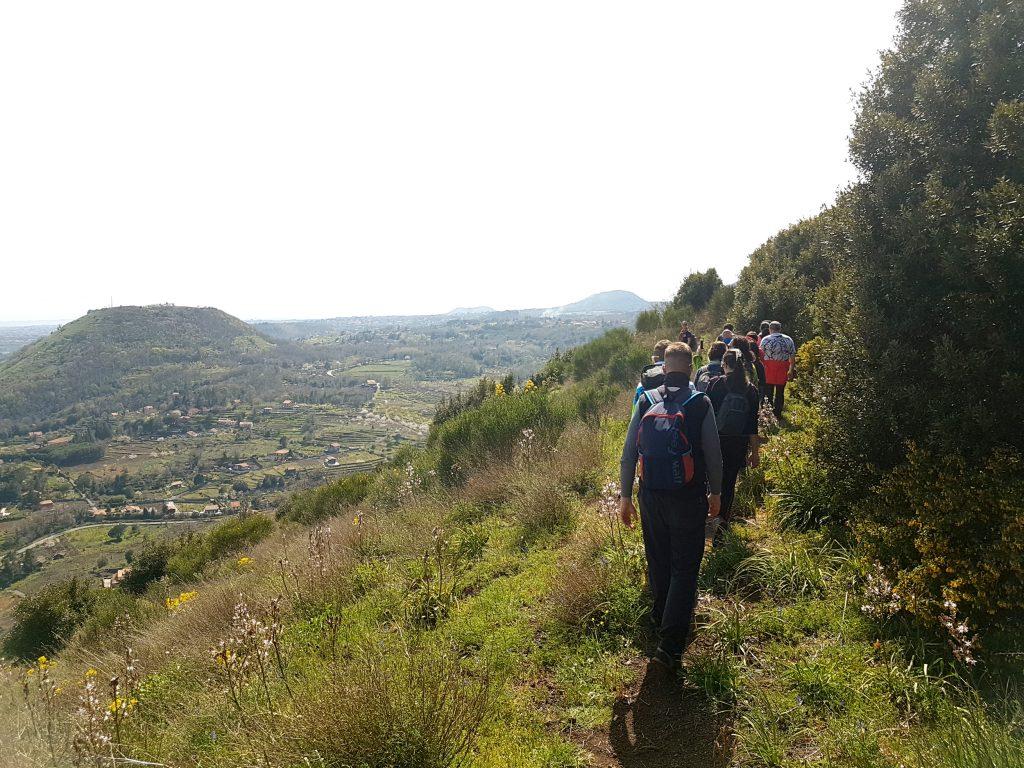 Passeggiata cratere monte Ilice