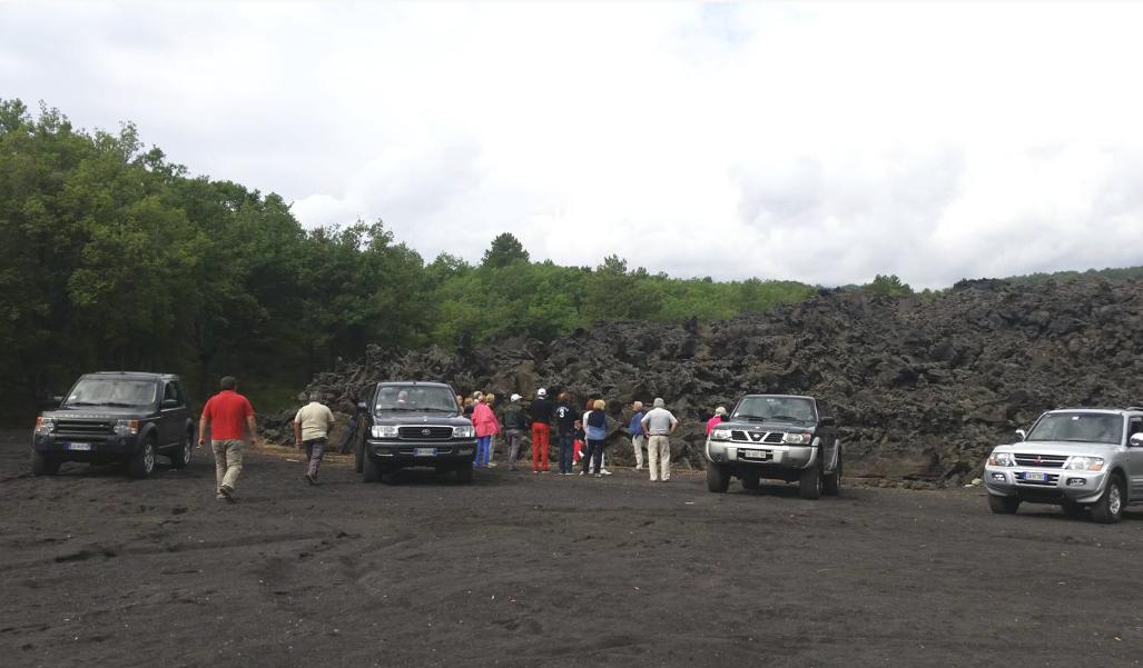 Etna jeep tour - halve dag