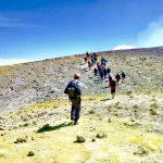 Etna trekking top cratere