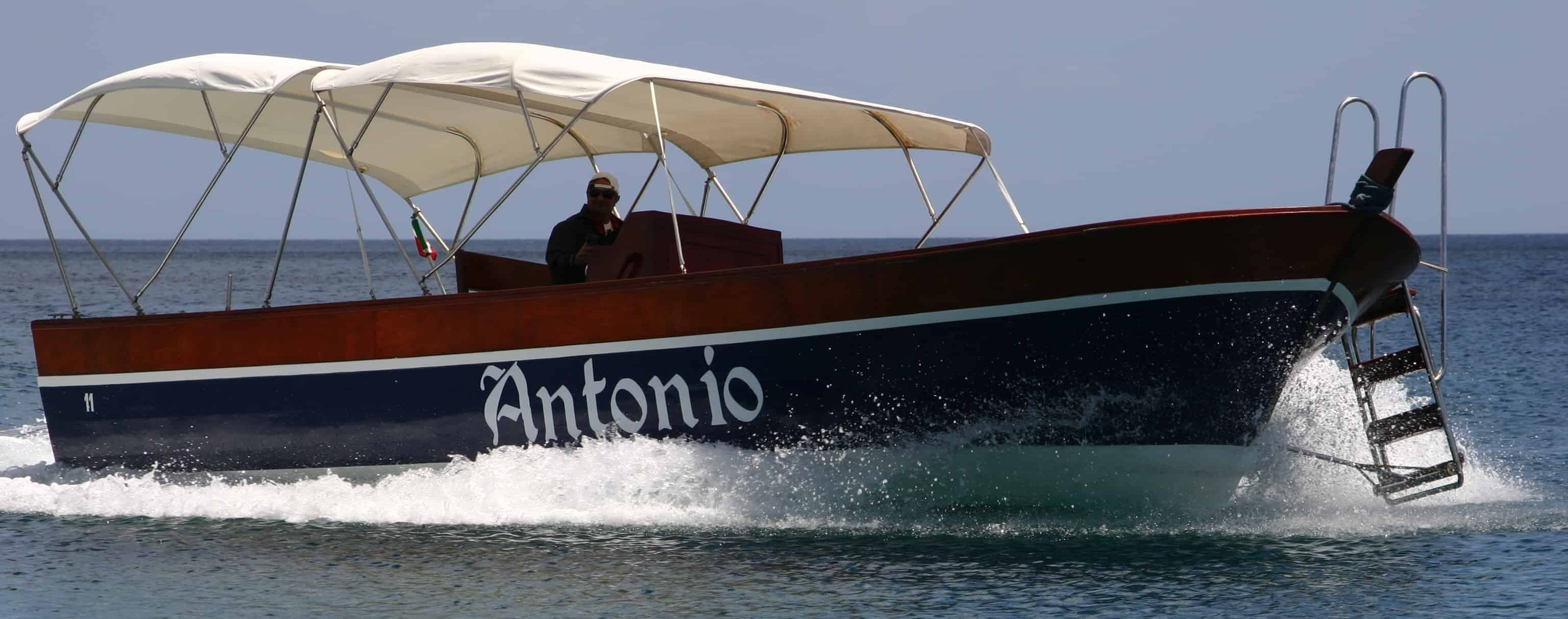 Boottocht Taormina - Giardini Naxos - Kapitein Antonio