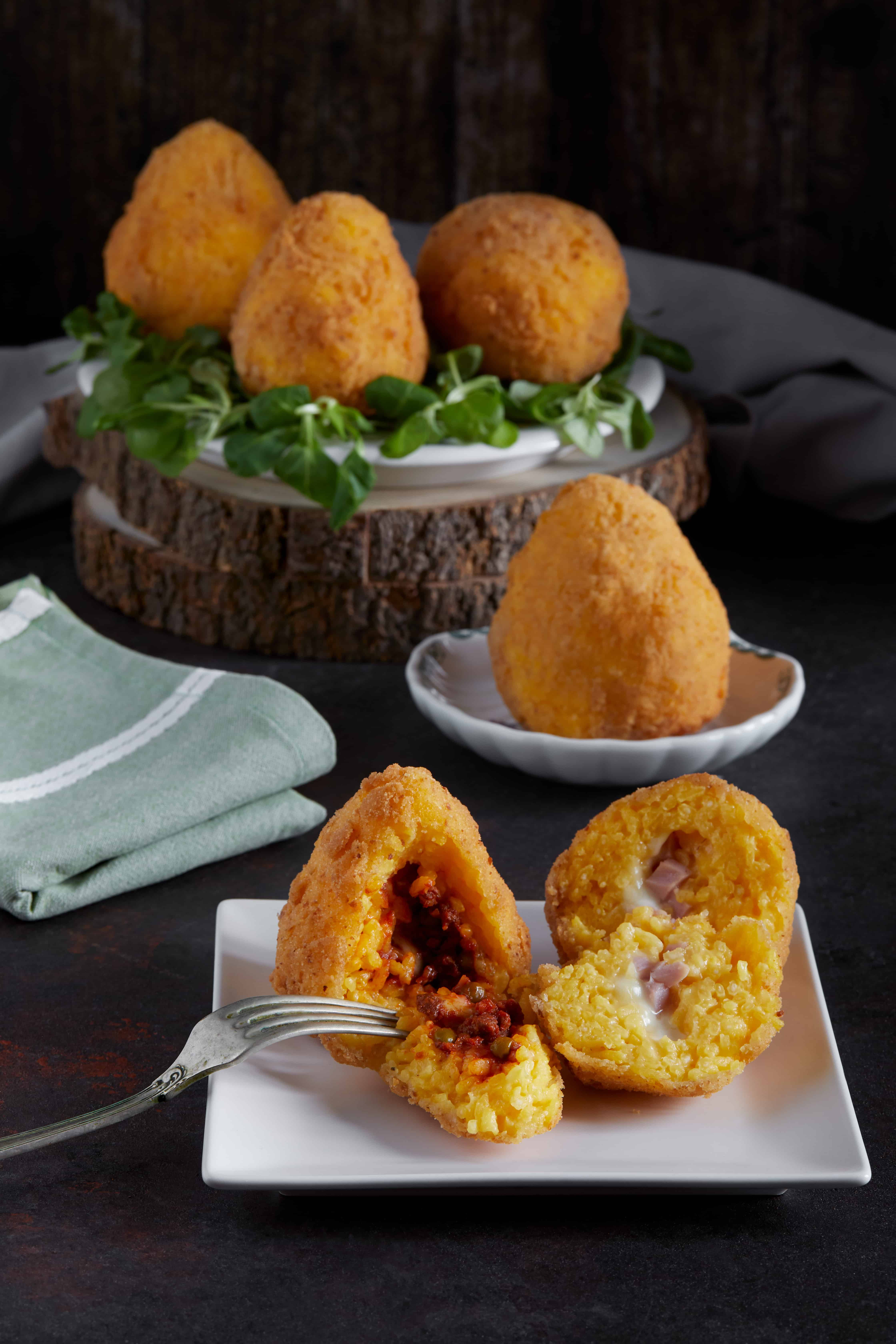 Arancini - Siciliaans eten