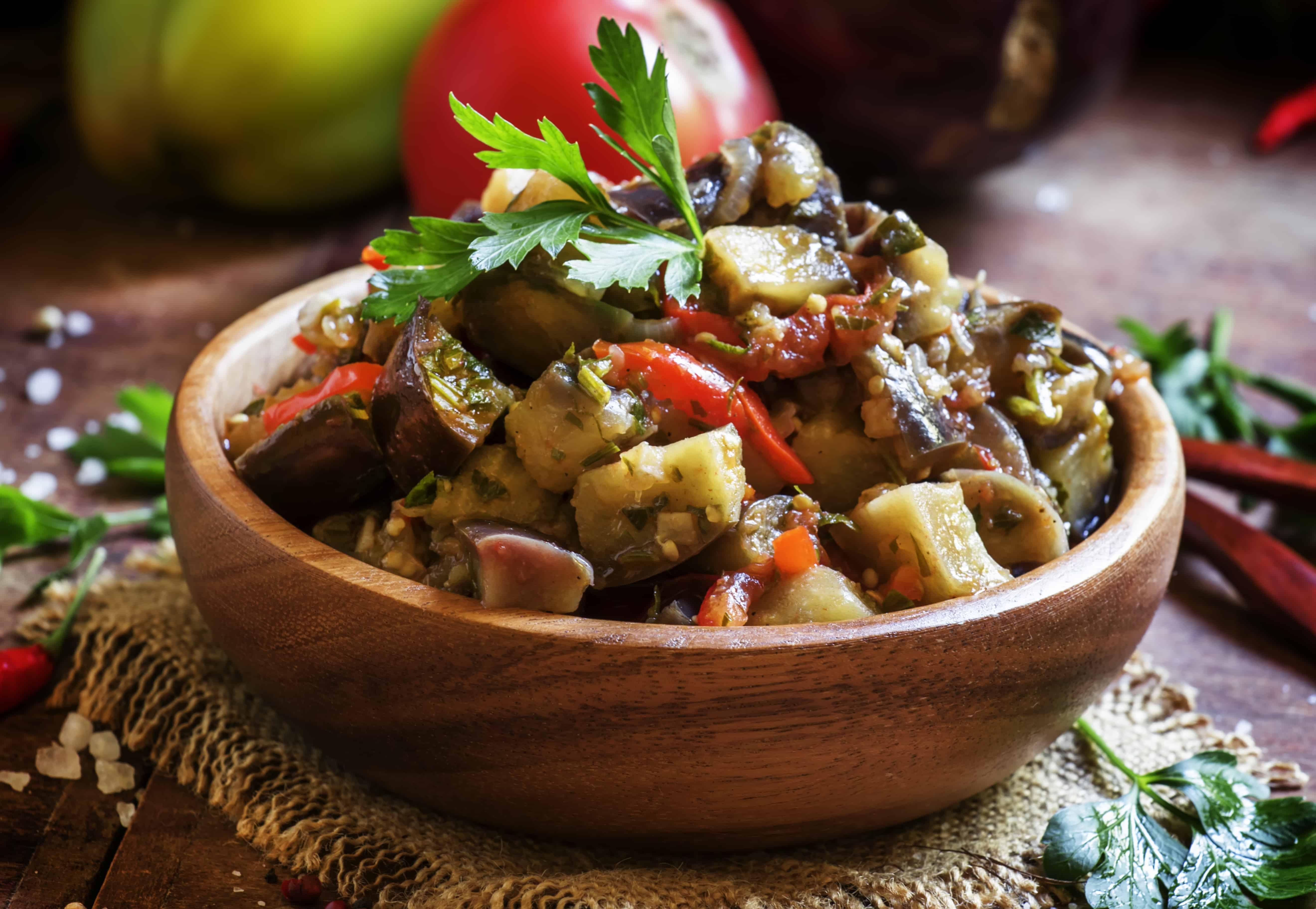 Caponata - Siciliaans gerecht