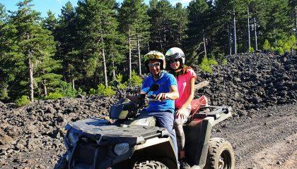 Escursione etna in quad - Etna nord