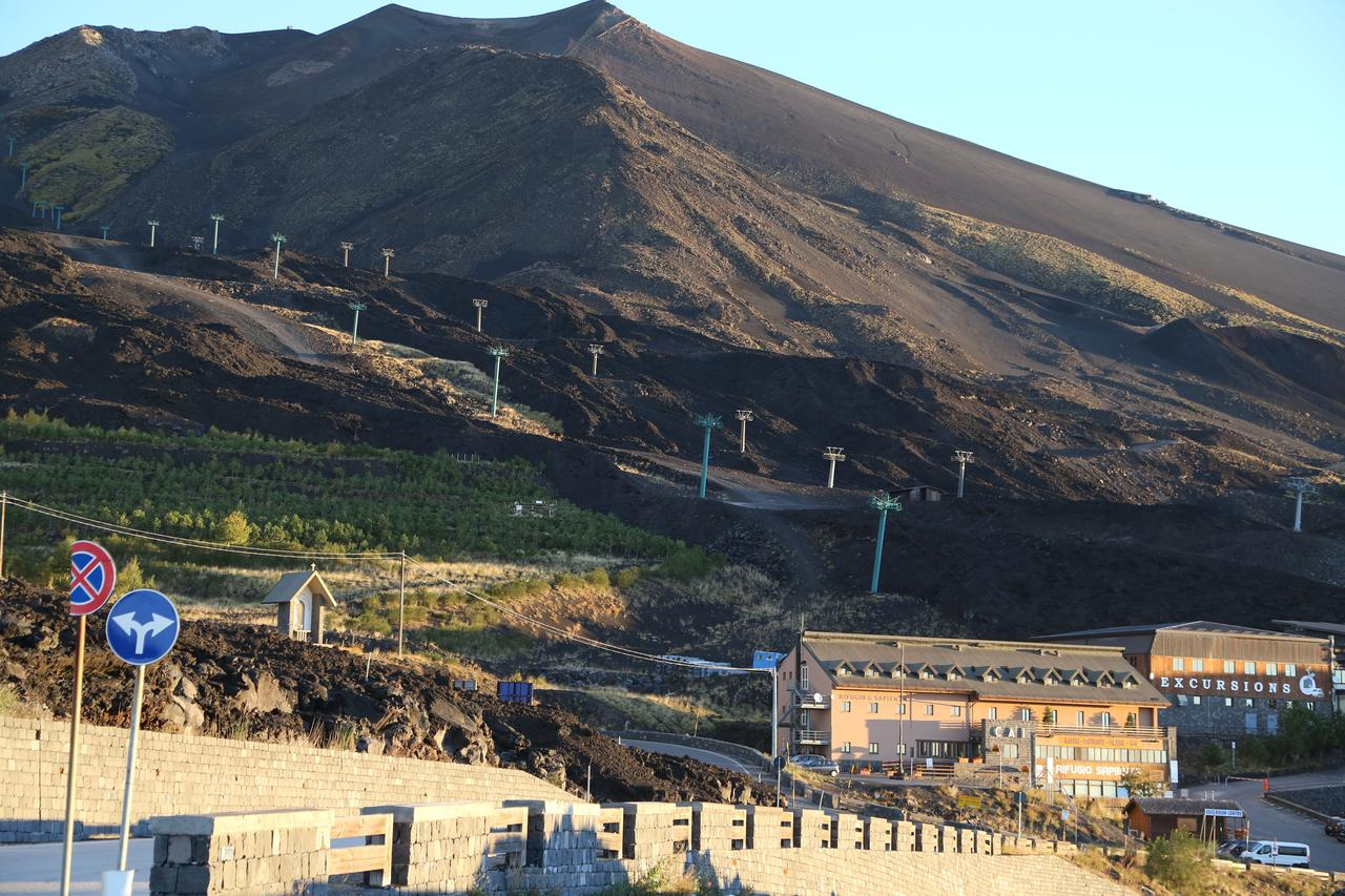 Rifugio Sapienza - Etna vulkaan - Nicolosi