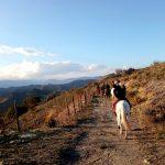 Andare a cavallo - Linguaglossa