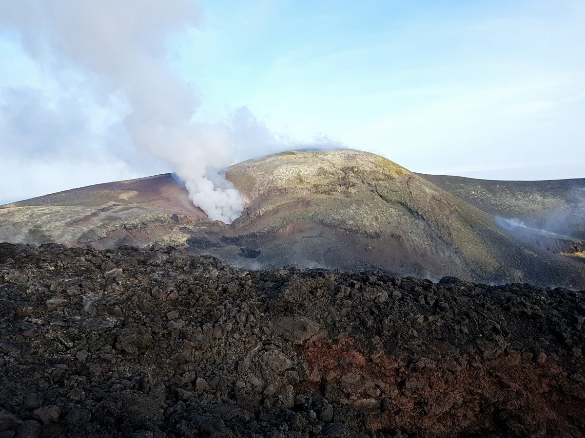 cratere sommitale etna nord