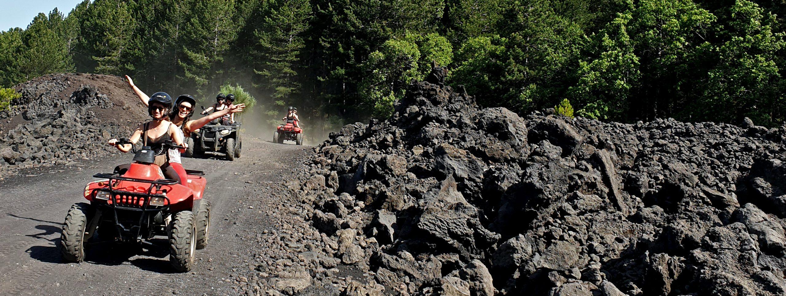 etna quad excursion lava 2002