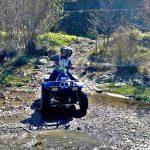 Guidare quad Alcantara fiume