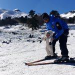 maestro di sci snowboard piano provenzana