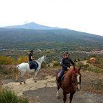 Passeggiata a cavallo - Linguaglossa