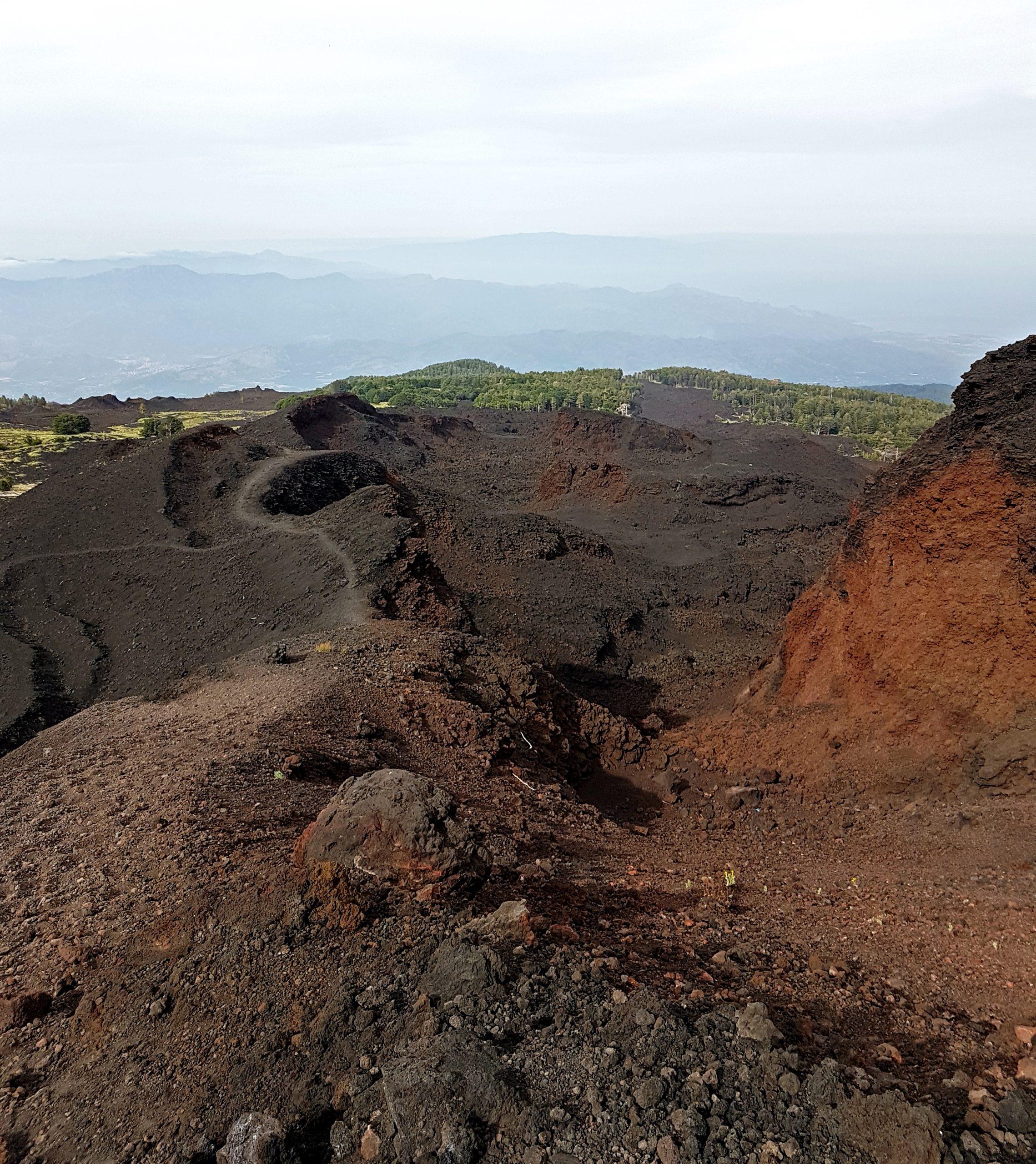 canyon eruzione 2002 etna