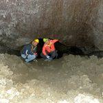 Dentro la grotta dei 3 livelli