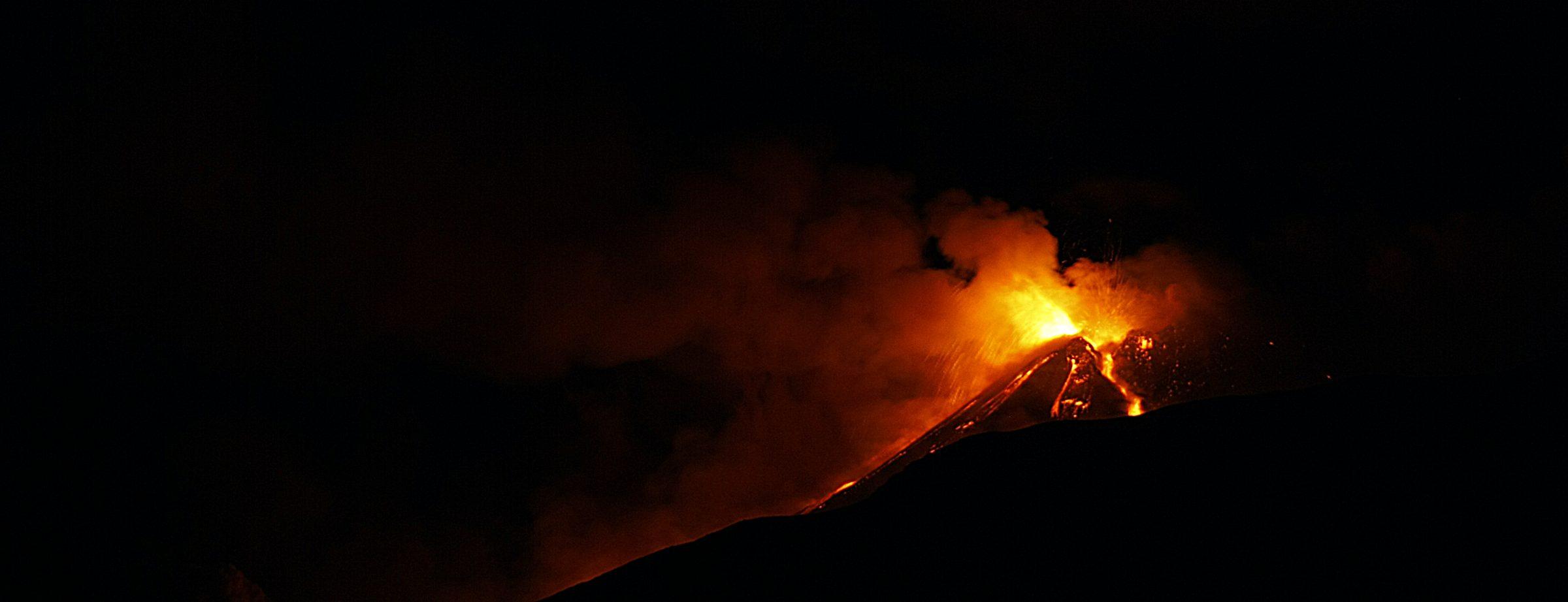 Eruzione Etna 18 gennaio 2021