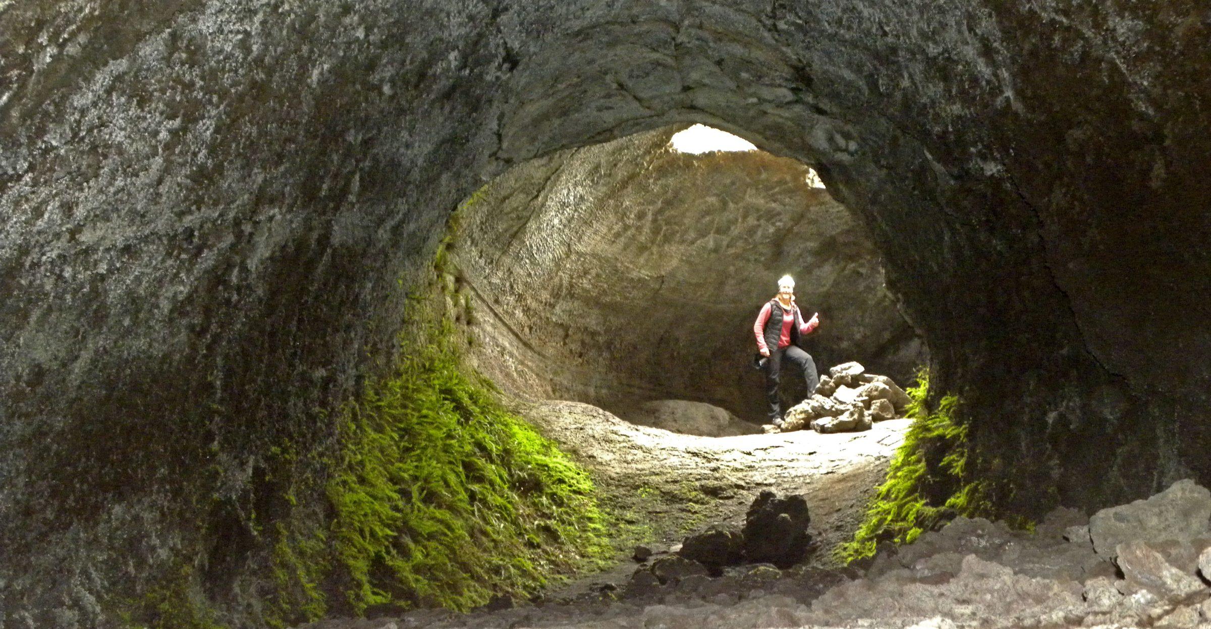 grotta dei lamponi etna