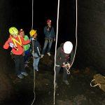 grotta dei tre livelli etna sud