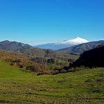 nebrodi con vista vulcano etna