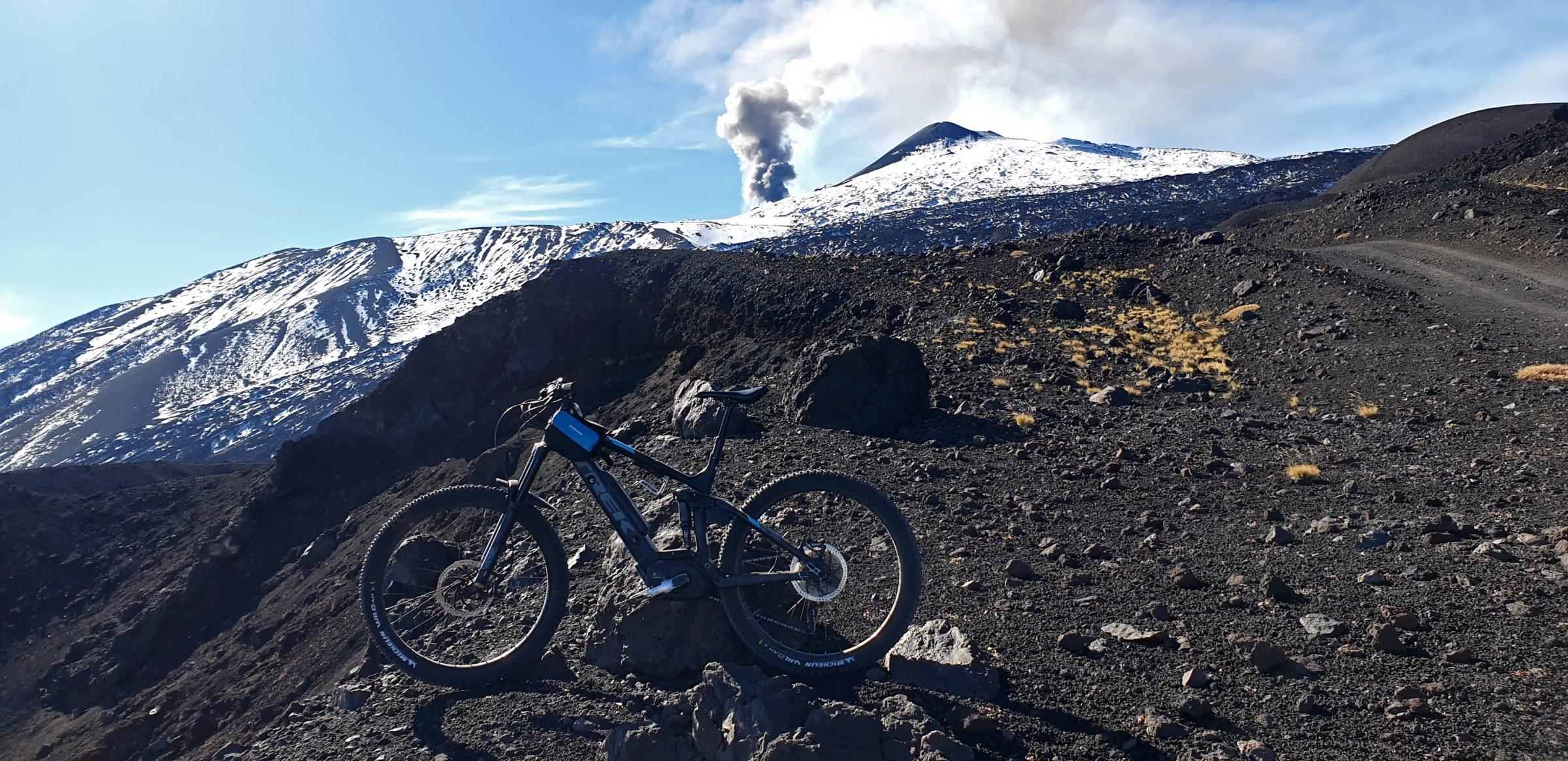 E-bike vulcano Etna Linguaglossa